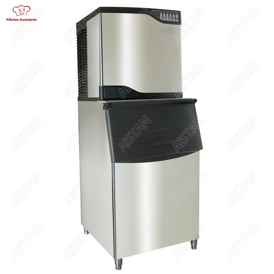ST Series Electric Free Standing Automatic Ice cube machine Ice maker Cooler 220V for commercial restaurant supermarket