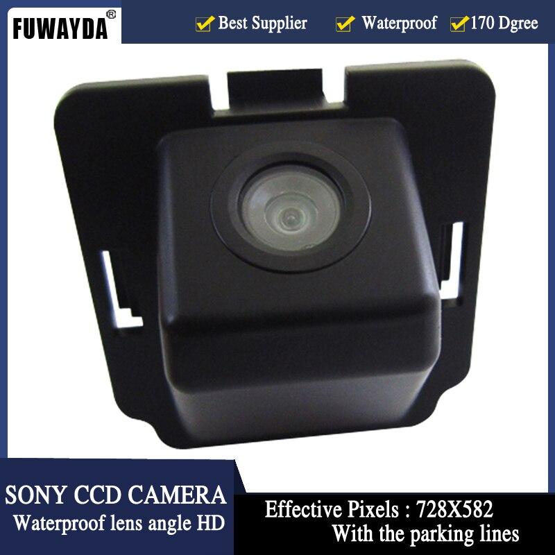 Fuwayda Sony CCD чип Специальный заднего вида Обратный Парковка Резервное копирование Детская Безопасность DVD GPS NAV КАМЕРЫ для Mitsubishi Outlander HD