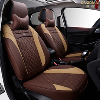 2017New 6D Automobiles Seat Covers Car Seat Cover,Universal Seat Cushion,Senior Leather,,Sport Car Styling,Car Styling Sedan SUV