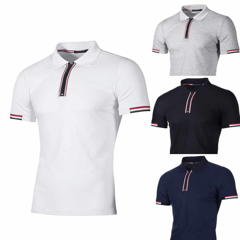 71d2c269e26c7 Ropa de marca de los nuevos hombres camisa de Polo de los hombres Casual  Slim Fit