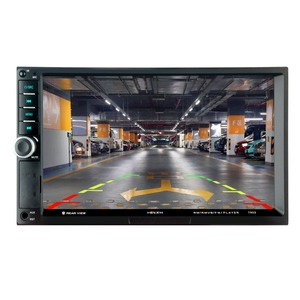 Image 2 - 7903 7 pouce écran tactile multifonctionnel lecteur Véhicule mp5 Joueurs, BT mains libres, FM radio MP3/MP4 Joueurs USB/AUX