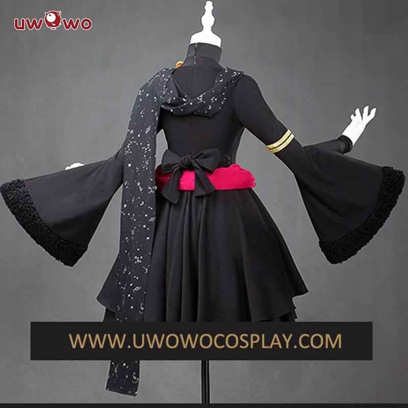 UWOWO Fate//Grand Order Ereshkigal Cosplay Costume Lancer Irkalla Maid Uniform