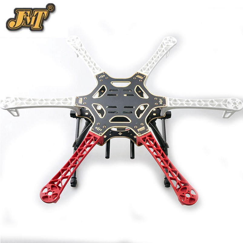 JMT F550 Frame Kit Retractable Landing Gear Skid Upgrade PCB Centre Board and Props for FPV F550 Hexacopter RC Drone f04305 sim900 gprs gsm development board kit quad band module for diy rc quadcopter drone fpv