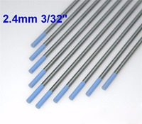 10 Pcs WL20 1 16 X6 3 32 X6 Lanthanated Tungsten Electrode Sky Blue