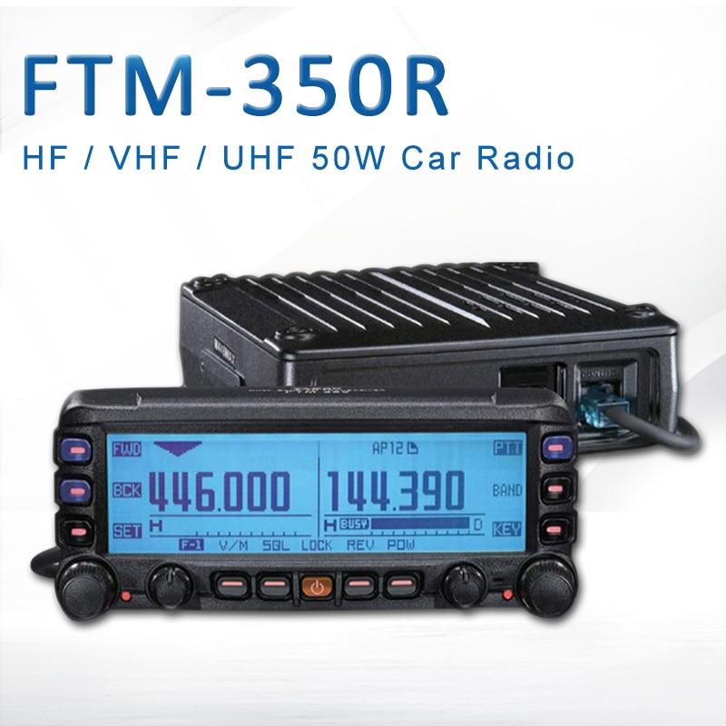General YAESU FTM-350R Mobile Radio Transceiver UHF/VHF Dual Band Car Radio Station Professional Station FTM 350R Vehicle Radio