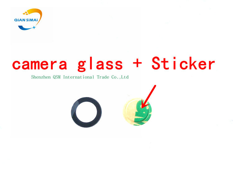 7.45MM Optics Glass Lens For Sony Xperia Z1 MINI Z2 Z3 Z4 Z5 Compact Back Camera Lens Is Made Of Glass With Sticker