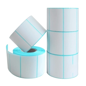 Image 3 - Etichette di spedizione 20x10mm 700 adesivo con codice a barre Per rotolo più forte e spesso spedizione termica senza BPA, adesivo vuoto Per supermercato