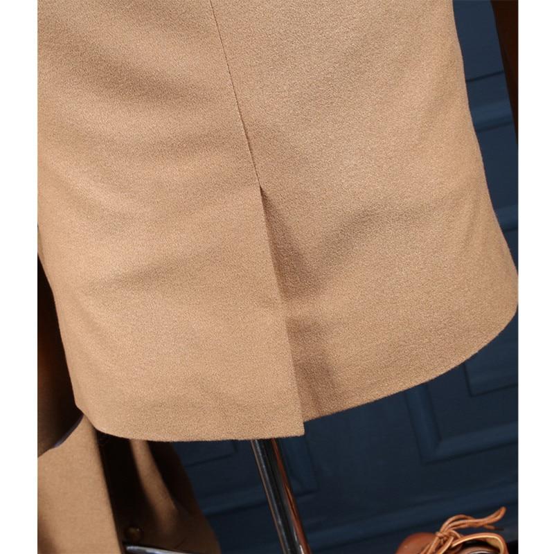Parti La Mode Slim Costume De Robe À Commande Fait Casual Gilet Sur Jaune Marié Automne Mariage Bal veste Printemps Pantalon Hommes aqfZZI