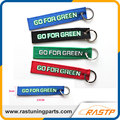 RASTP - Racing Souvenir Keychain with Stainless Steel Ring Go for Green Creative Car Tuning LS-BAG002