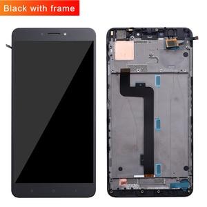 Image 2 - Dla Xiao mi mi Max wyświetlacz LCD ekran dotykowy Digitizer zgromadzenie dla Xiao mi mi Max 2 LCD Max2 Max 3 ekran wymiana czarny biały