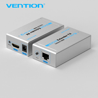 Vention HDMI Extender TX Cat5 6 RJ45 Ethernet HD 1080p 1080i 720p Double Cat5 6 60M