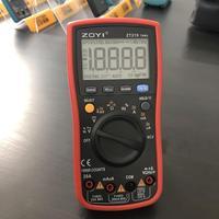 Promo ZOYI marca ZT 219 cuatro dígitos Semi True RMS rango automático Universal multímetro Digital totalmente protegido