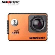 Soocoo s100 wifi 4К спорт камера встроенный гироскоп с gps расширение (gps модель не включить) действий камеры экшен-камера