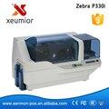Zebra P330i Принтер USB Card ID-Карты Печатная Машина Поддержка Печати Изображения Используйте Цвет Ленты