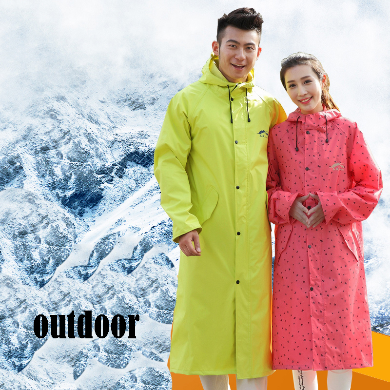 Waterprof Rain Coat Women Men Poncho Rainwear Capa De Chuva Travel Impermeable Rain Poncho Outdoor Raincoat Clothing QQG341