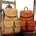 Saco stacy venda quente mulheres mochila de couro marrom caqui preto fêmea do vintage bolsa de viagem saco de escola estudante mochila de viagem