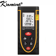 Wholesale prices Digital laser rangefinder Meter 40M ruler Laser Rangefinder Range Finder  Laser Tape Measure Area/volume Angel M/in/Ft Tool