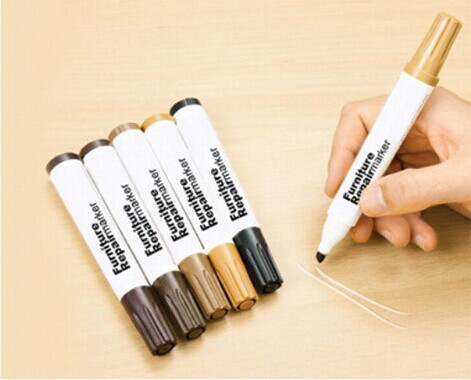 Charming Free Shipping Pack Of Six Wood Furniture U0026 Floor Repair Marker Pens