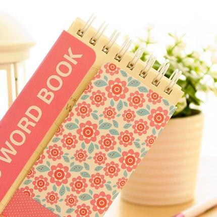 Cadernos inglês palavra sketchbook caderno memo The Text Material : Paper