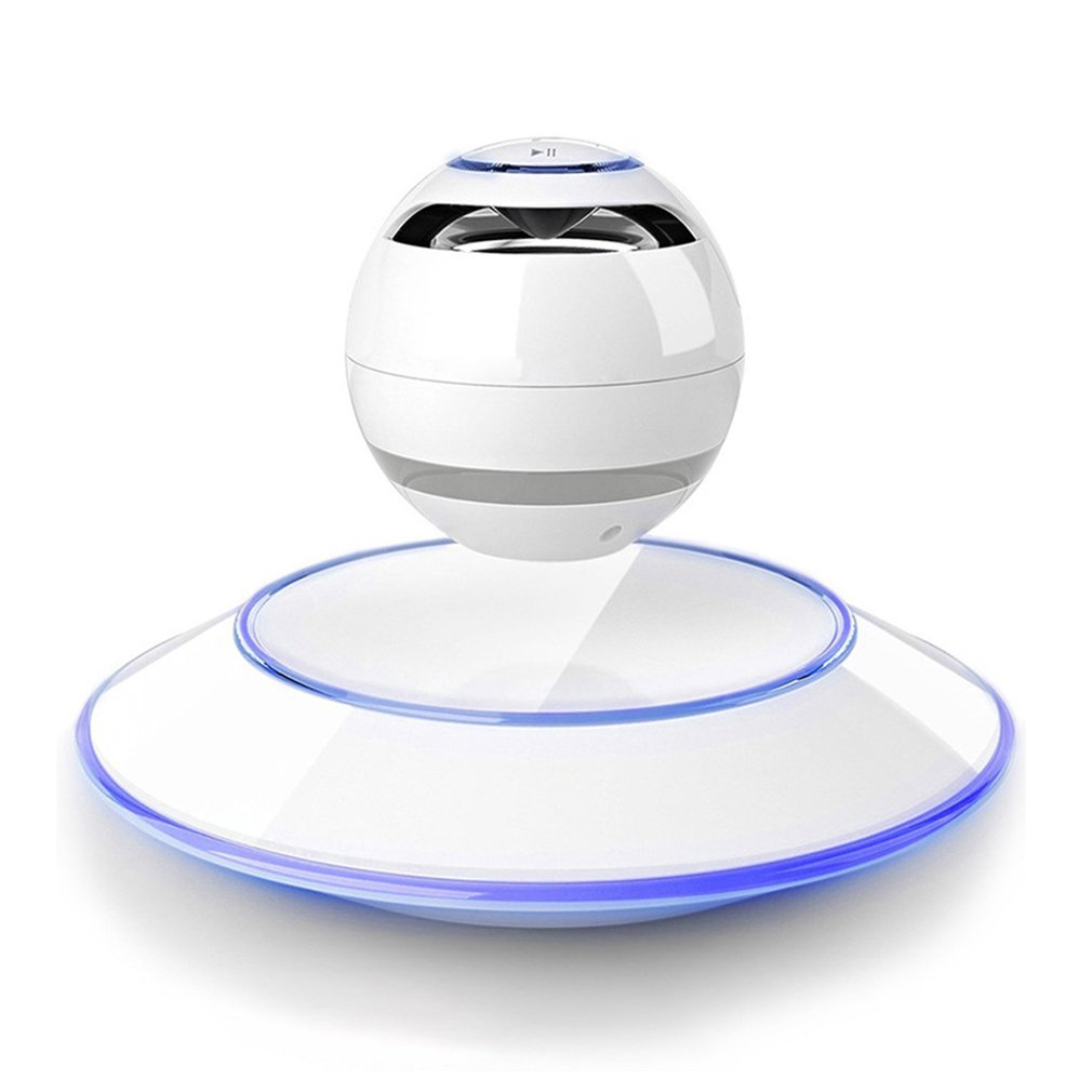Magnetic Suspension Levitation Bluetooth Speaker Wireless Stereo Music Loudspeakers Super Bass Hands-free Sound Loudspeakers stereo mobile phone system waterproof for shower 10w bt4 0 super bass hi fi hands bluetooth speaker