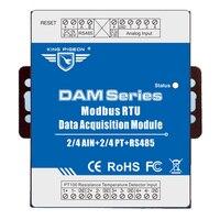 リモート · データ収集モジュール 4 アナログ入力 3 相電力監視と ESD 保護 DAM116