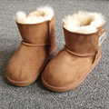 Sheepskin Fur Baby Snow Boots Boys Girls Ugly Boots Winter Warm Children Shoes Brand Kids Geanuine Leather Australia Sneakers