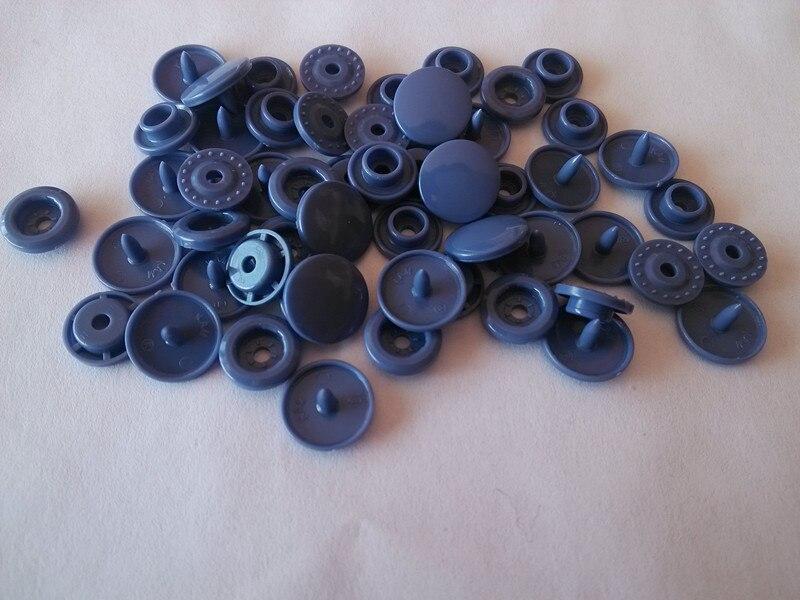 T5 Coeur B19 40 pièces Lot de 10 jeux KAM Vert d/'eau T20 10 pressions