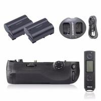 Meike MK D500 Pro 2.4G Hz Remote Control Shooting for Nikon D500 Camera Replacement of MB D17 + 2PCS EN EL15 Battery + Charger