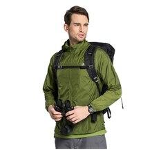 TECTOP/для прогулок для мужчин быстрое высыхание дышащий УФ водостойкий Softshell Сверхлегкий Солнцезащитная одежда(ArmyGreen XXL мужской