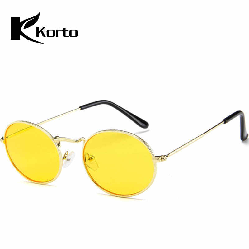 ae9ddaea38348 ... Retro Round Sunglasses Women Men Brand Designer Sun Glasses Female  Alloy Mirror Sunglasses Male Oculos De ...