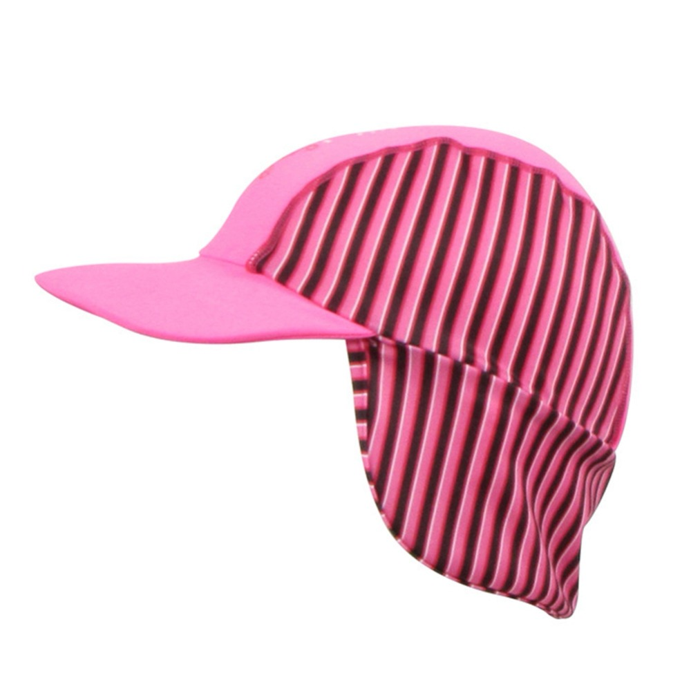 Ear Protection Cap for Outdoor Girl Boy Anti-UV Elastic Beach Hat Children Kids Unisex Headwear Sportswear Accessories 2019