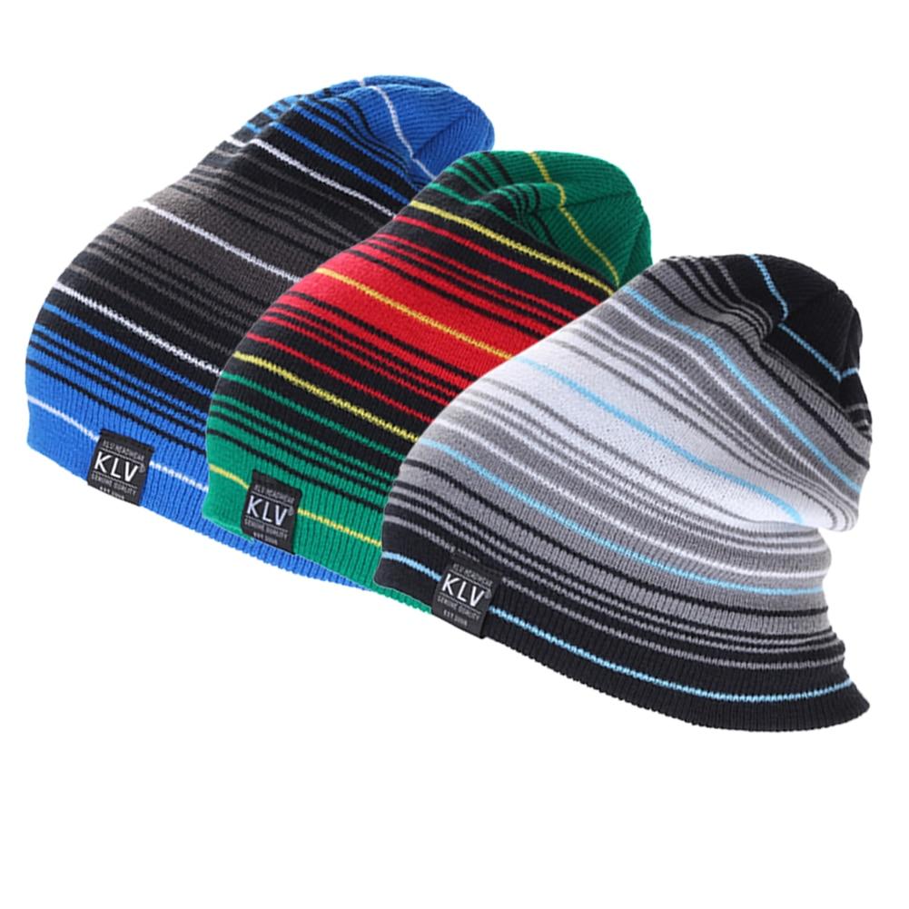 ⊱2018 nuevos sombreros hombres nueva raya de lana hombres sombreros ...