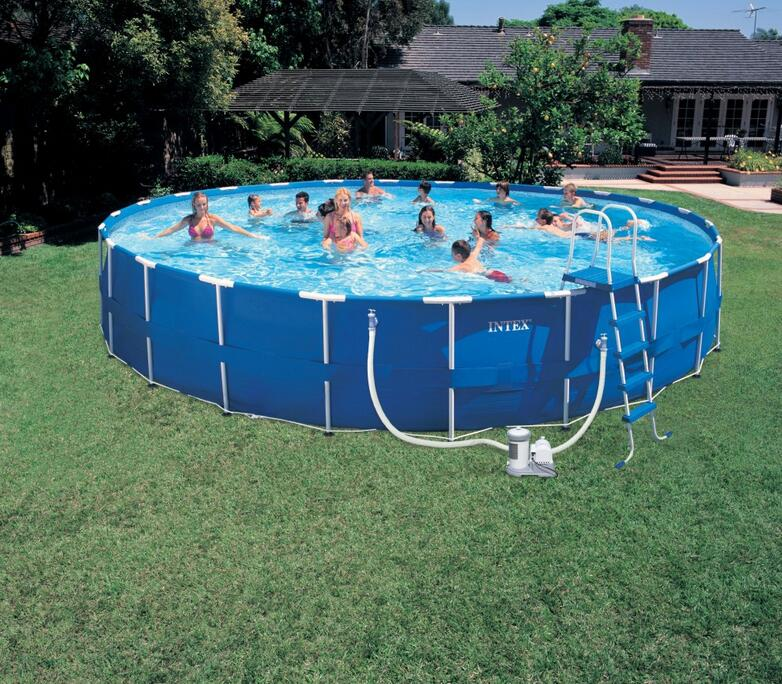 INTEX 56952 18 \'family schwimmbad rahmen/halterung Pool Deluxe Pool ...