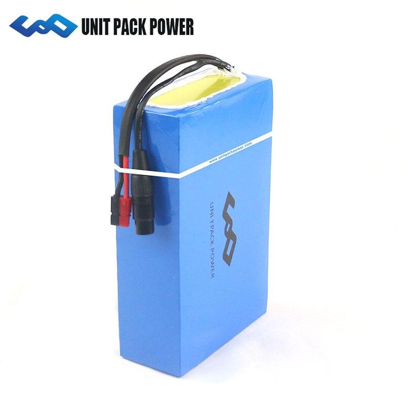 48 V 1000 W batterie au lithium 48 V 20AH batterie li-ion Pack 48 V 20Ah vélo électrique Batterie avec 30A BMS + 3A chargeur rapide