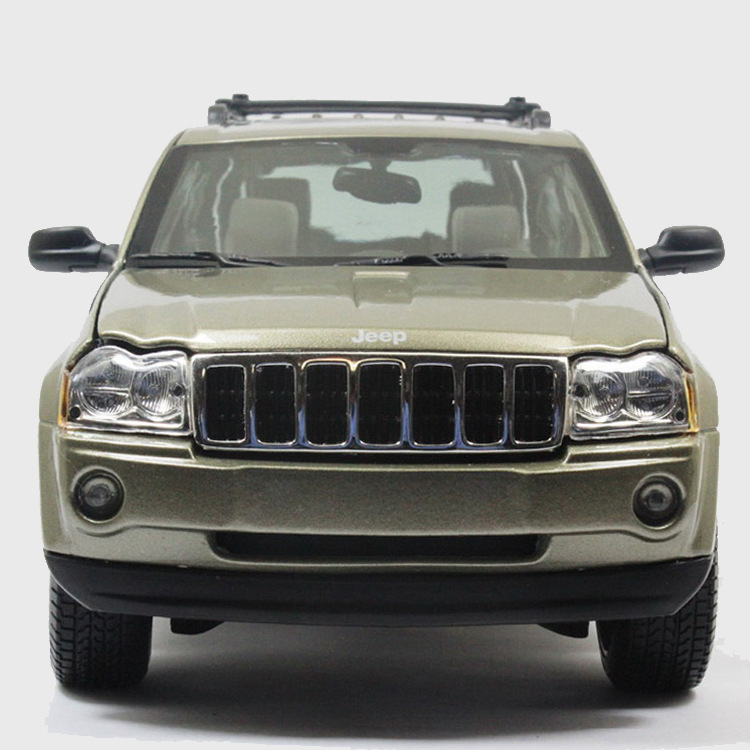 118 jeep grandcherokee suv alloy car model toy simulation car diecast models collection metal cars kids gifts