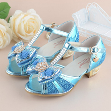 Crystal Shiny High Heels Princess Sandals