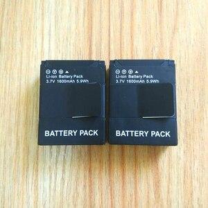 Image 5 - Gopro Hero 3 + Pil 3.7 V AHDBT 301 pil şarj cihazı USB çifte şarj makinesi Pil kutusu GOPRO3 AHDBT302 Eylem kamera aksesuarları