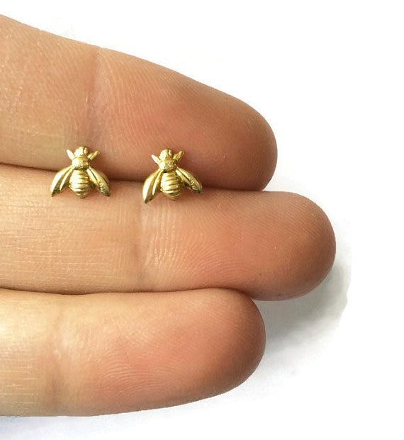 Bumble Bee Stud Earrings QQwla0F
