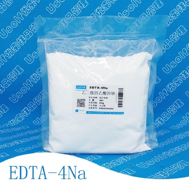 500g/bag EDTA-4NA 99% industry grade Tetrasodium EDTA500g/bag EDTA-4NA 99% industry grade Tetrasodium EDTA