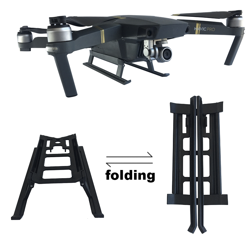 Landing Gear for DJI Mavic Pro Platinum Drone Extender Protector Landing Bracket Folding Leg Portable Feet Protective Parts