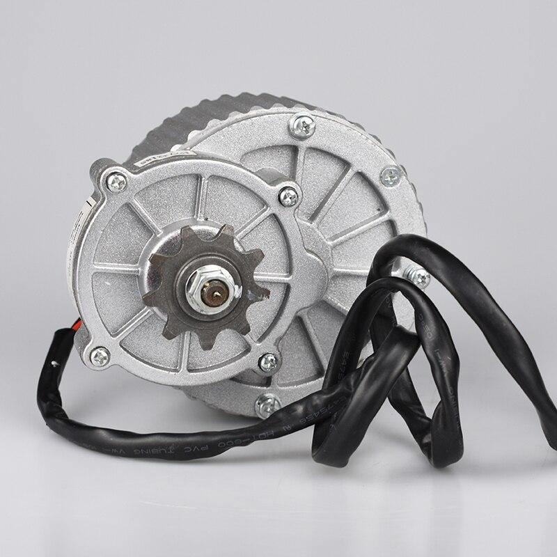 Kit di conversione Bici elettrica 250 W 450 W 24 V/36 V MY1018 Dell'ingranaggio di cc della Spazzola Del Motore Elettrico Della Bicicletta motore E moto Spazzolato Motore A CORRENTE CONTINUA