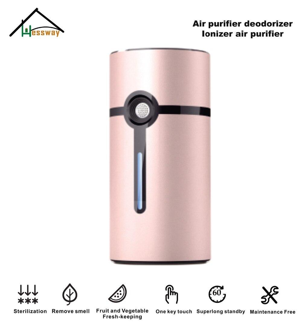 Mini USB ozone generator air purifier ozone sterilizer wite wardrobes,shoe closets,cabinets,preservation boxs,travelling cases