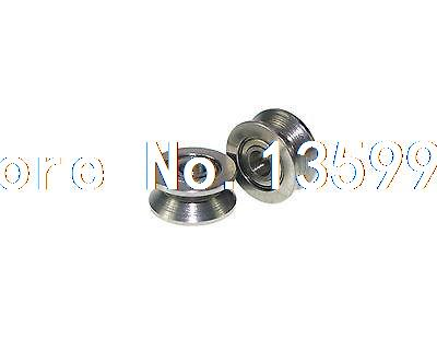 (1)3x13x6mm 624VV 3mm V Groove Guide Pulley Sealed Rail Ball Bearing  3*13*6