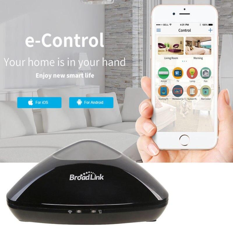 Controlador Broadlink RMPro + WiFi + IR + Control de RF para Alexa Google IFTTT de casa inteligente 315/433 Mhz aplicación de Control remoto AU/UK/UE/estándar-in Módulos de domótica from Productos electrónicos    1