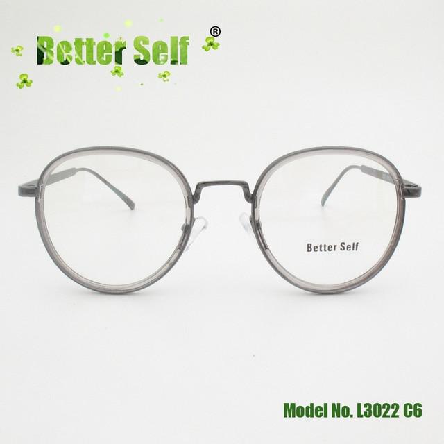 af31f183e46 Better Self Stock L3022 Retro Eyeglasses PC Spectacles Eye Glasses Frames  For Men Women Round Prescription Eyewear