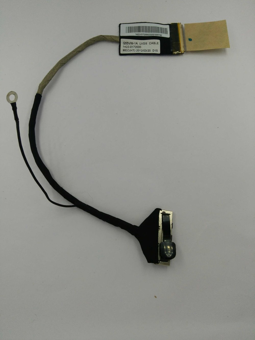 original free shipping  for ASUS G55 G55V G55VW-1A lcd lvds led cable G55VW 1422-0172000