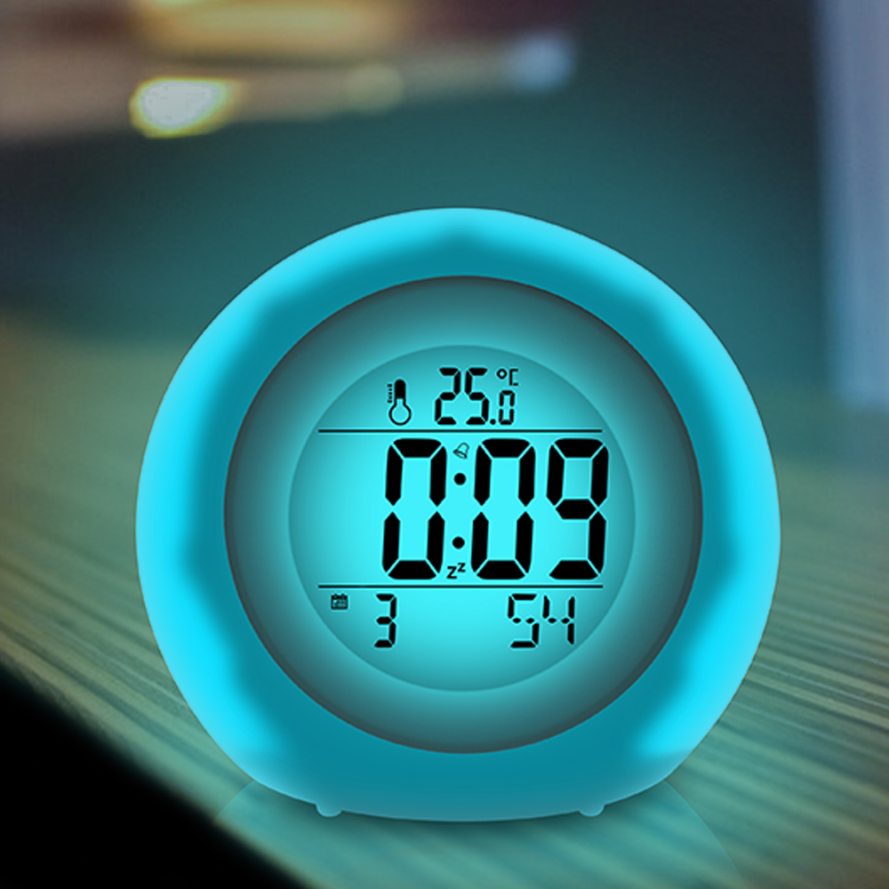 Baldr Color Changing Alarm Clocks with Changing Colorful ...