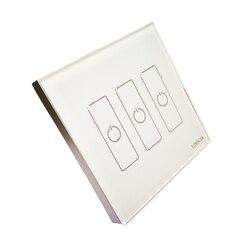 Nowy EDA3 Dali ściemniacz Led 3 kanał Dali kontroler Led na On/Off przełącznik do montażu na ścianie panel dotykowy ściemniacz Dali LED kontroler