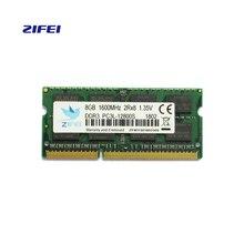 ZIFEI оперативной памяти ddr3l памяти Операция 2 г 4 г 8 г ноутбук DDR 1600 Memoria DRAM Stick для ноутбука