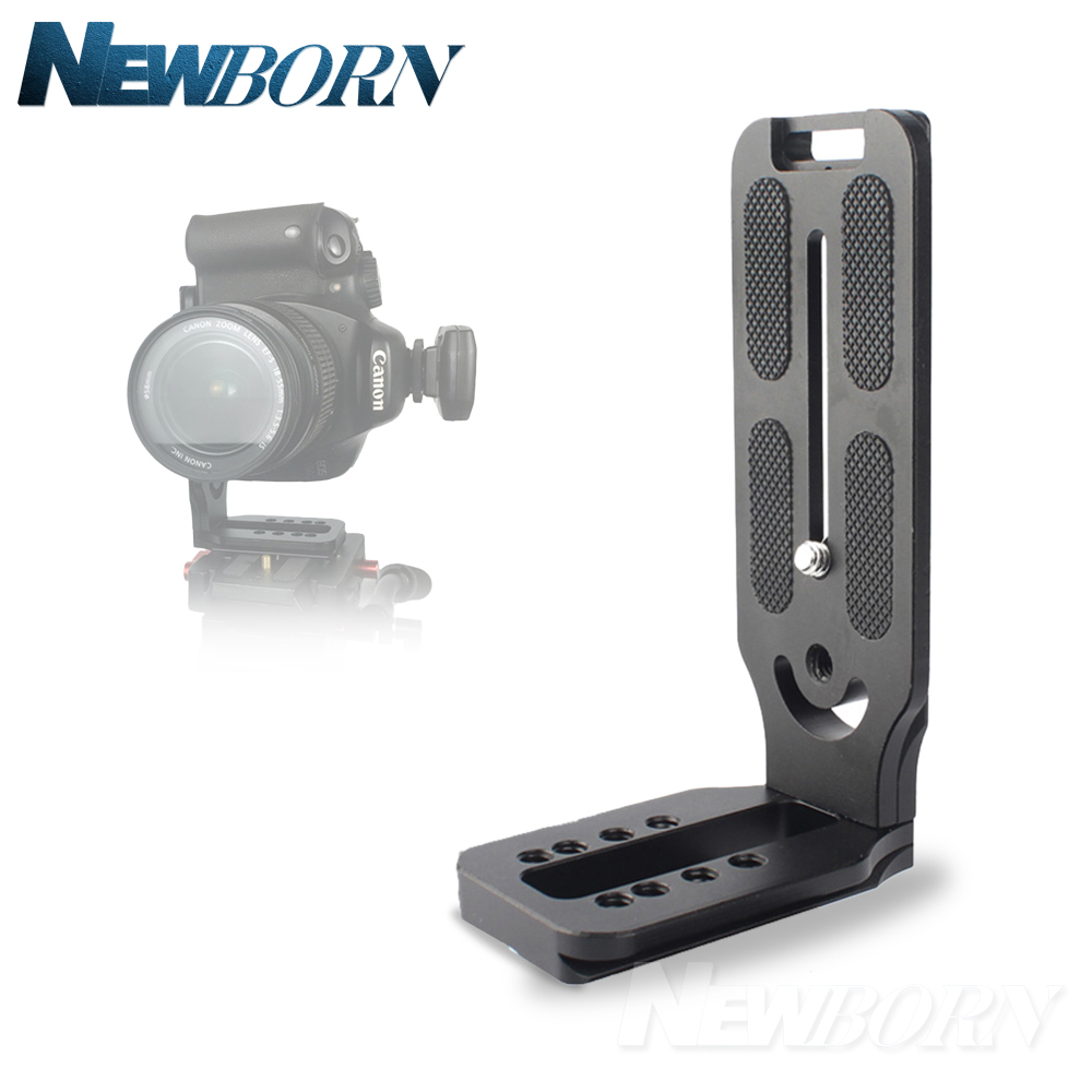 Profession Quick Release L Plate Bracket Vertical shooting for Canon 5D III IV NIKON D800 D800E Sony A6300 A7 A9 Cameras
